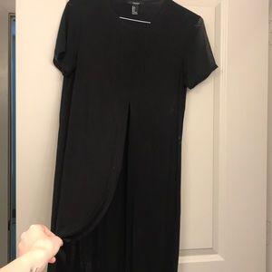 Forever 21 split shirt